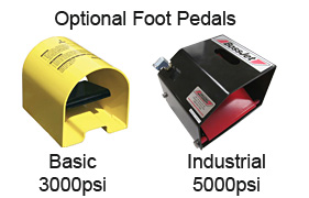 Optional Foot Pedals