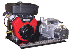 Condé Gas Engine Vacuum Units