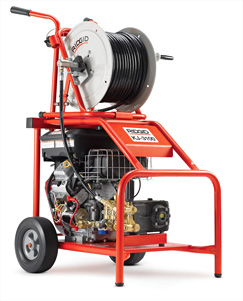 Ridgid Electric And Gas Sewer Jetters