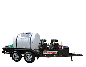 BossJet Max Trailer Mounted Sewer Jetters