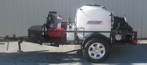 TR200HDCJD5535VA-AM Compact Trailer Mounted Jetter