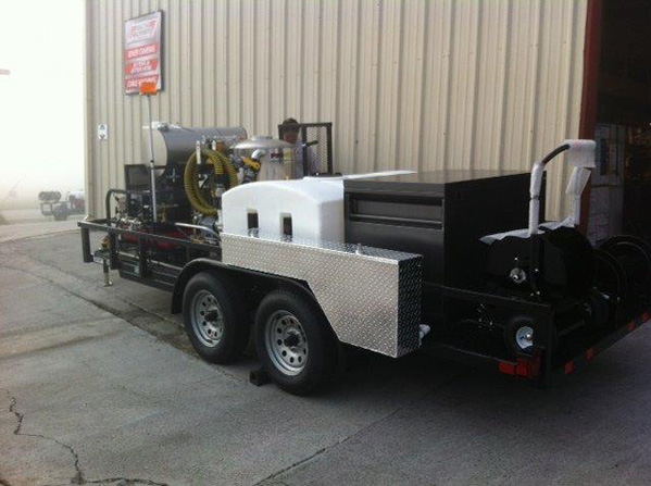 Custom Jetter Showing Toolboxes